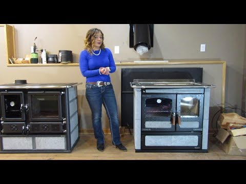 Rizzoli L90 Wood Cookstove - Overview