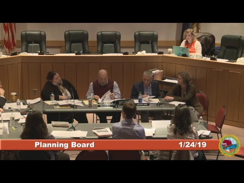 Planning Board 1.24.2019