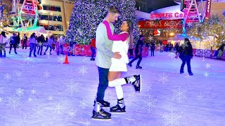 Barbie and Ken go Ice Skating!