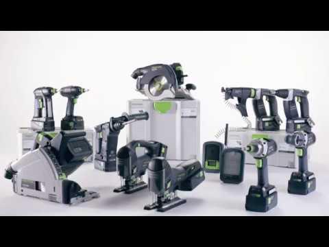 Festool BHC 18 Li 5,2 I -Plus accu boorhamer machine