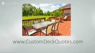 preview picture of video 'Best Affordable Deck Builders Hamilton Ohio'