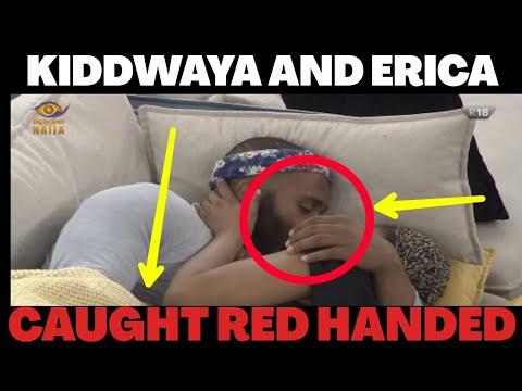 BBNaija 2020 Erica and Kiddwaya Caught Red Handed    BBNaija season 5