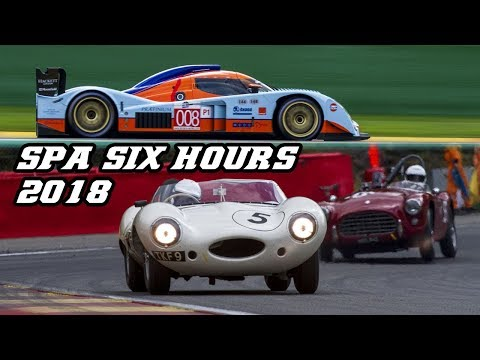 Sights & sounds of Historic racing - Spa Six Hours 2018 (F1, Touring, GT and Sportscars)