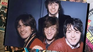 "♫ The Beatles photos  recording ""Lady Madonna"" 1968"