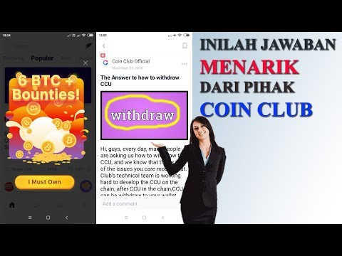 Coin club INILAH JAWABAN WITHDRAW COIN CLUB