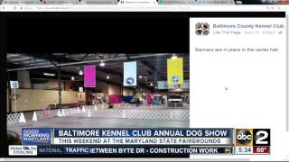 Baltimore County Kennel Club hosts annual dog show
