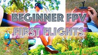 Beginner FPV DRONE First Flights -- Bonus ACROBATICS