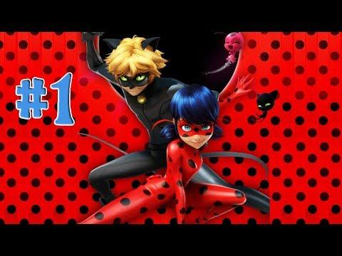 Леди Баг и Супер-Кот #1 Новая игра Спасаем Париж вместе с Леди Баг и Супер-Котом.