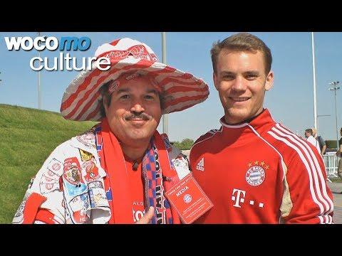 Bayern München Fan Buschmann hautnah - Er hat auch schon Manuel Neuer getroffen!
