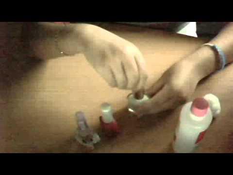 Alcool di formica contro un fungo di unghie