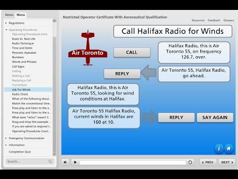 Free Online Aviation Radio Course - YouTube