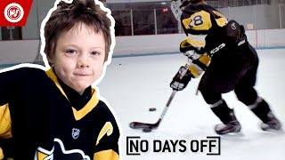 8-Year-Old Hockey Prodigy | Roman Marcotte Highlights