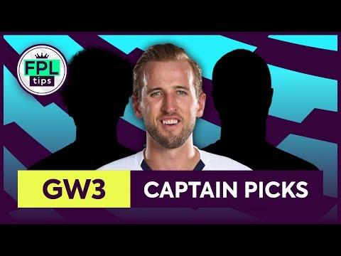 GW3: TOP 3 FPL CAPTAINCY PICKS | Gameweek 3 | Fantasy Premier League Tips 2019/20