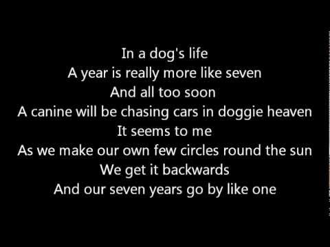Dog Years performed by Rush