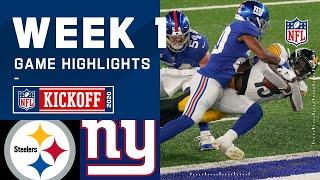 Steelers vs. Giants Week 1 Highlights | NFL 2020