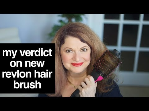 Revlon hair dryer and curler | test and demo