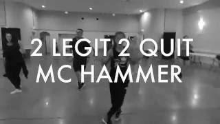2 LEGIT 2 QUIT – MC Hammer | Richmond Urban Dance (Beginner Hip Hop)