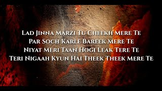 "Temporary Pyar ""Darling Umar'an Da Vaada Karde"" (Lyrics"