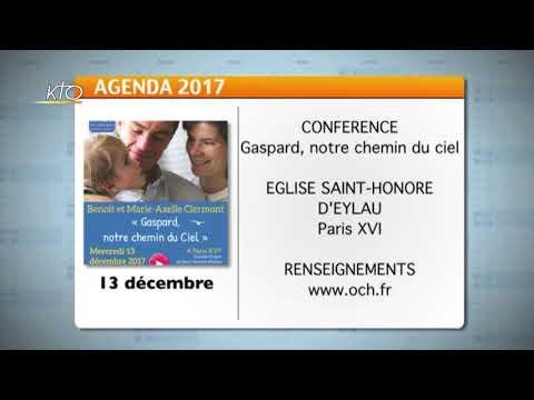 Agenda du 13 novembre 2017