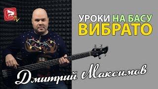 Урок бас гитары с Дмитрием Максимовым. 3 вида вибрато.