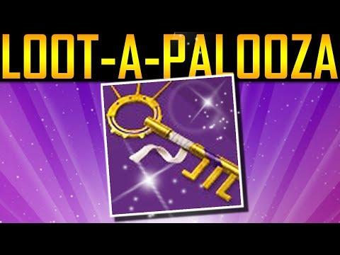 Destiny 2 – LOOT-A-PALOOZA KEY! DANCE PARTY KEY!