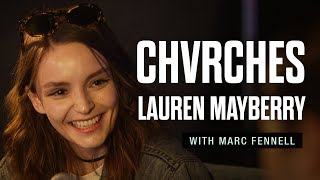 """Video thumbnail of """"CHVRCHES' Lauren Mayberry: The Joan of Arc of pop music"""""""