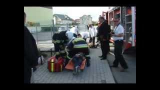 Dukla - ćwiczebna akcja ratunkowa w Zespole Szkół nr 2