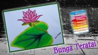 Cara Menggambar Bunga Lotus म फ त ऑनल इन व ड य
