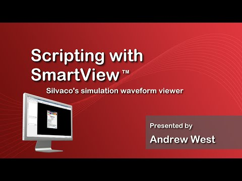 Scripting with SmartView - Silvaco's Simulation Waveform Viewer