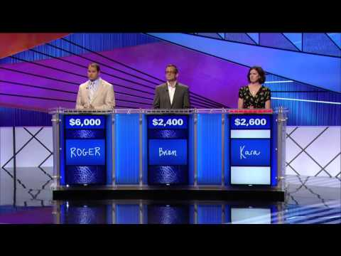 Jeopardy: What is a threesome?