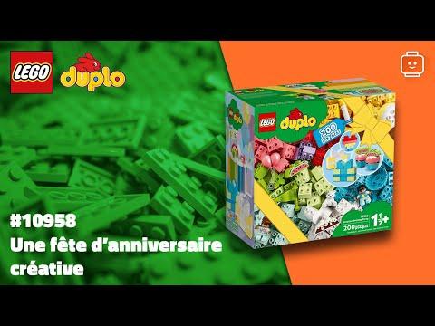 Vidéo LEGO Duplo 10958 : Une fête d'anniversaire créative