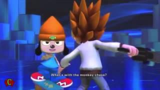 Playstation Allstars Battle Royale Cutscenes 'PaRappa the Rapper Rival' & Ending Cutscenes【HD】