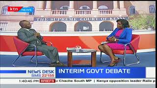INTERIM GOVERNMENT DEBATE: What will save the country from itself