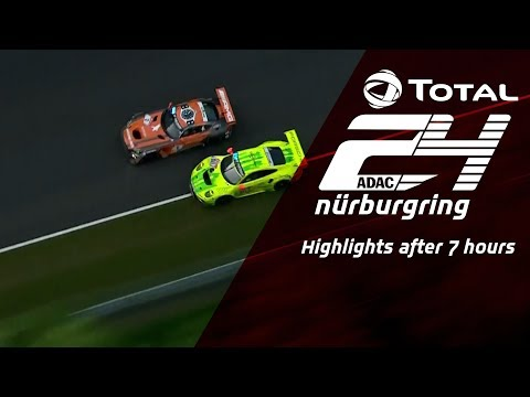 ADAC TOTAL 24h Race | Summary after 7 hours