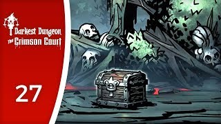 Looking for the courtyard key - Let's Play Darkest Dungeon: The Crimson Court #27
