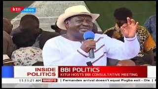 BBI POLITICS: Chaos mars Kitui BBI rally | INSIDE POLITICS
