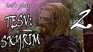 РАЛОФ - ГЕЙ?! let's play SKYRIM (The Elder Scrolls V) Part 2