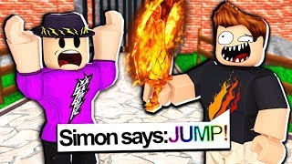 YOUTUBER SIMON SAYS in ROBLOX MM2