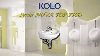 Унитаз подвесной Kolo Nova Top Pico видео