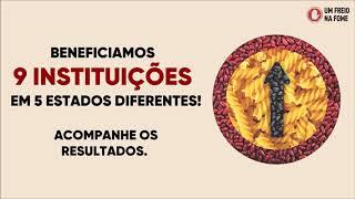 Campanha Um Freio na Fome arrecada mais de 6 toneladas de alimentos