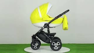 Детская коляска 2 в 1 Broco Eco 02 от компании Beesel - видео