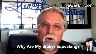 Why Are My Brakes Squeaking? VIDEO