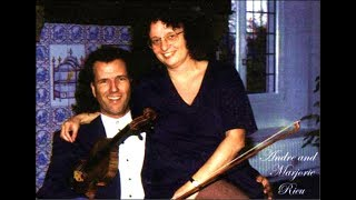 André Rieu and his wife Marjorie Rieu