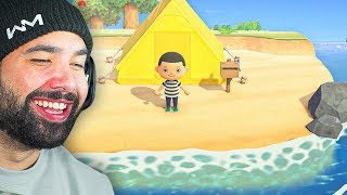 MY FIRST TIME PLAYING - Animal Crossing: New Horizons - Part 1