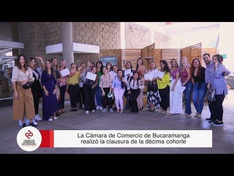 Clausura Mujeres Ecco 2019 | Cámara de Comercio de Bucaramanga