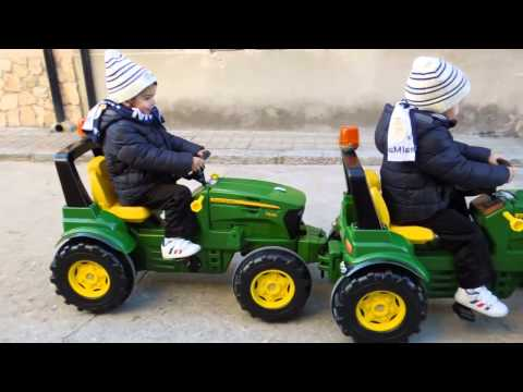 John Deere Pedal Tractor Ride On
