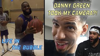 Life In The Bubble - Danny Green Takeover | JaVale McGee Vlogs