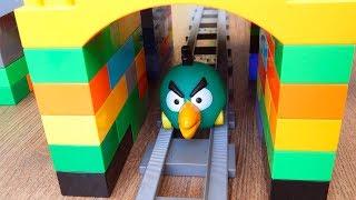 Поезда Мультики про Паровозики Тоннель Город машинок 273 серия Мультики для детей про игрушки