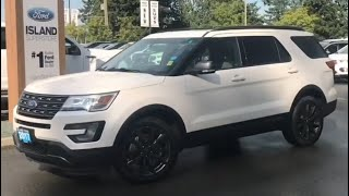 2017 Ford Explorer XLT W/ Seats 7, Nav, AWD Review| Island Ford