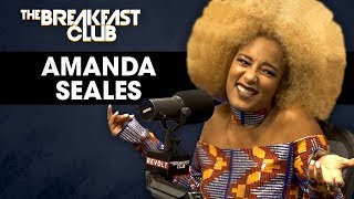 The Breakfast Club - Amanda Seales On Male Insecurities, Russell Simmons, Colorism In America + More
